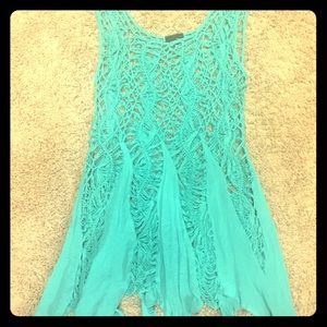 Tank scarf style top